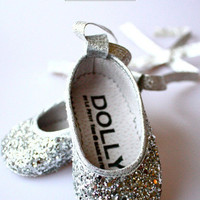 Le Petit Tom ® - babyschoentjes, baby ballerina's glitter, dolly shoes, handmade in italy, le petit tom