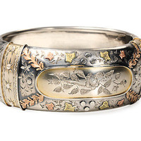 On the Cuff: Victorian Bangle Bracelet - The Three Graces