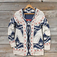 Cedar Lodge Sweater, Sweet Navajo Inspired Clothing