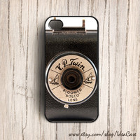 Vintage Camera Black Case , iphone 5 case , iPhone Case , Unique iPhone Case , iPhone 4 Case , Plastic or Silicone Rubber Case by IdeaCase