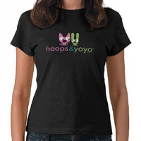 hoops&yoyo stacked logo t shirts from Zazzle.com