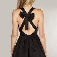 BOW BACK DRESS - Dissh
