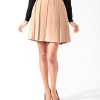 Essential Box Pleated Skirt