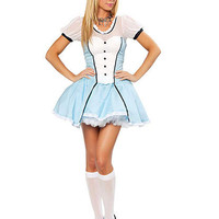 Victorian Alice Costume | Sexy Clothes Womens Sexy Dresses Sexy Clubwear Sexy Swimwear | Flirt Catalog