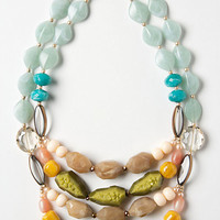 Naturalist Gem Layer Necklace