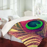 DENY Designs Home Accessories | Shannon Clark Peacock 2 Duvet Cover