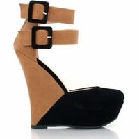two-tone-wedges BLACK BLUE DKTAN - GoJane.com