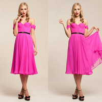 Fuschia Silk Hand Gathered Bustier Gown