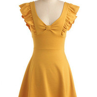 A-maizing Harvest Dress | Mod Retro Vintage Dresses | ModCloth.com