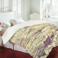 DENY Designs Home Accessories | Shannon Clark San Fran Rooftops Duvet Cover
