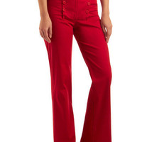 Rouge on Your Radar Pants | Mod Retro Vintage Pants | ModCloth.com