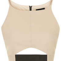 Elastic Cut-Out Crop Top - New In This Week - New In