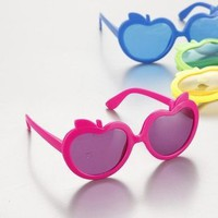 ONE Apple Costume Sunglasses,Kids,Party Favours,SGM003 on eBay!