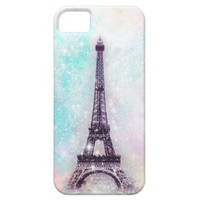 Eiffel Tower Pastel iPhone 5 Cases from Zazzle.com