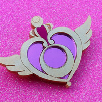 Sailor Moon Crisis Moon Compact Brooch
