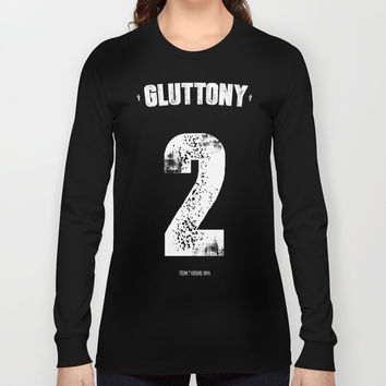 7 Deadly sins - Gluttony Long Sleeve T-shirt by HappyMelvin