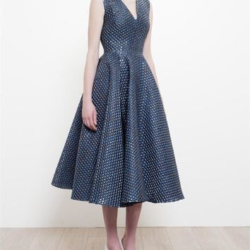Bubble Wrap Jacquard Dress - ROKSANDA
