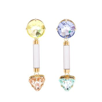Anjelica Swarovski Earrings - VALENTINA BRUGNATELLI