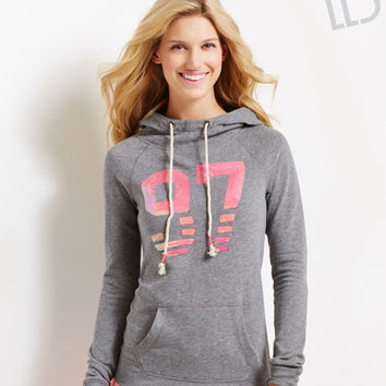 Aeropostale  LLD Sequined 97 Popover Hoodie