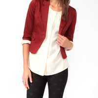 3/4 Sleeve Blazer