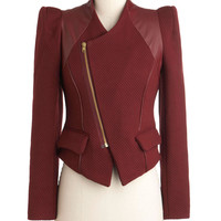 Traffic People Wine Dining Jacket | Mod Retro Vintage Jackets | ModCloth.com