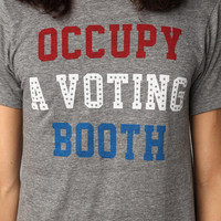 FUN Artists Occupy A Voting Booth