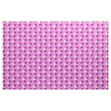 Purple, Pink And White Balloon Bouquet Fabric