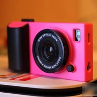 Amazon.com: HOTER 3D Vintage Style Camera IPHONE 4 /4S Case - Hot Pink: Cell Phones & Accessories
