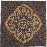 Pier 1 Imports - Product Details - Beaded Tile Placemat