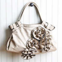 avignon ruffles floral purse - $48.99 : ShopRuche.com, Vintage Inspired Clothing, Affordable Clothes, Eco friendly Fashion