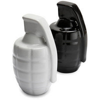 ThinkGeek :: Taste Explosion Salt and Pepper Shakers