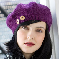 Stitch Nation by Debbie Stoller Seedling Beret
