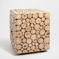 STOOL WITH WOOD PIECES - This week - New Arrivals | Zara Home United Kingdom