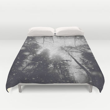 Will you let me pass II Duvet Cover by HappyMelvin