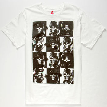 Ayc Creep & Destroy Mens T-Shirt White  In Sizes