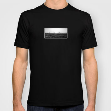 Wipe Out/Paddle Out T-shirt by Derek Delacroix