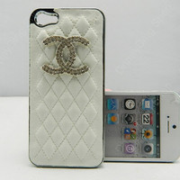 iphone 5  case leather cover Sheepskin case leather case  rhinestone  case  iphone 5 cases iphone 4 case