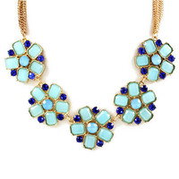 Pree Brulee - Moroccan Flower Necklace