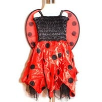smilekids | Lady Bug Animal Halloween Costume in Red for Toddler Girls Age 2 - 7 years | Online Store Powered by Storenvy