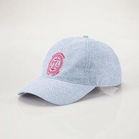 LINEN-COTTON BASEBALL CAP