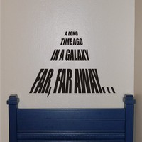 Star Wars Wall Decal