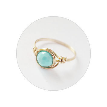 Mint Ring - unique rings
