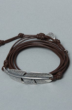 The Multi Wrap Feather Bracelet by M Cohen | Karmaloop.com - Global Concrete Culture