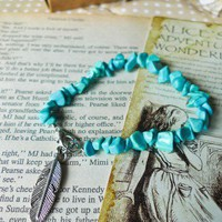 Indian Spirit Turquoise Bracelet - Retro, Indie and Unique Fashion