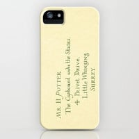 Mr. Harry James Potter - Hogwarts Invitation/Letter iPhone Case by Ashleigh | Society6