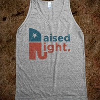 Raised Right  (Vintage Tank) - Right Side of Life