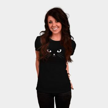 Cute Black Cat T Shirt By Badbugs Design By Humans