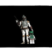 Boba and son by Pixeltoaster on Etsy