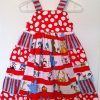 Dr Seuss Ruffle Dress Sizes 2-8 on Luulla