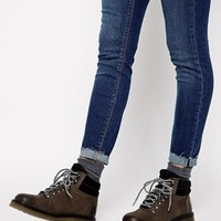 ASOS ANY DAY NOW Leather Ankle Boots